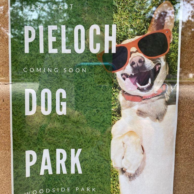 New Dog Park at Woodside Park
